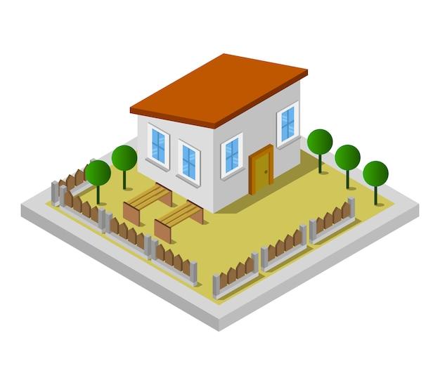 Casa isométrica