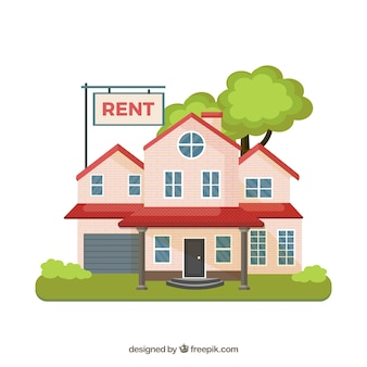 Casa para alugar fundo