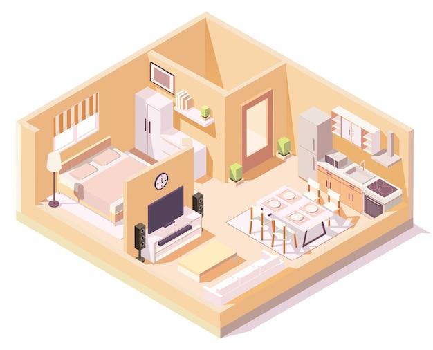 Casa sométrica, composição de quartos diferentes