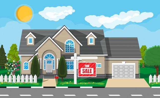 Casa suburbana privada. imobiliária