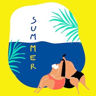 Casais de férias de verão