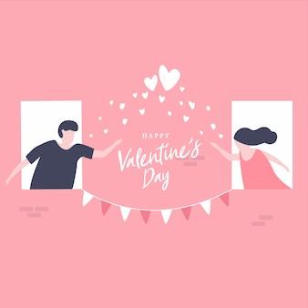 Casais enviar amor para o dia dos namorados.