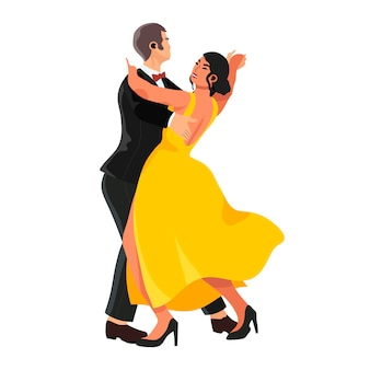 Casal dançando tango