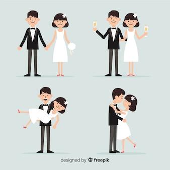 Casal de noivos