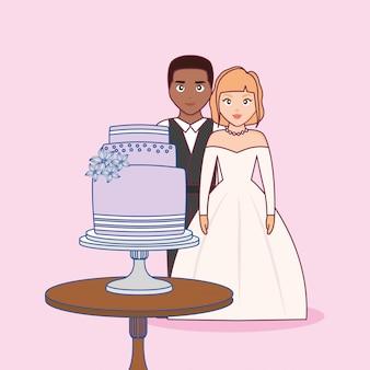Casamento com casal