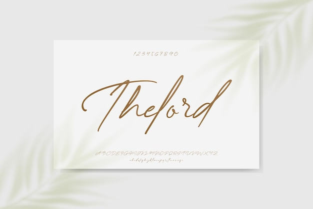 Casamento elegante alfabeto letra fonte tipografia luxo clássico serif fontes decorativas vintage retro