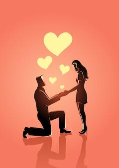 Casar-me com ilustração