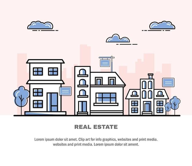 Casas imobiliárias
