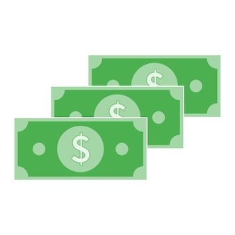 Cash money icon design