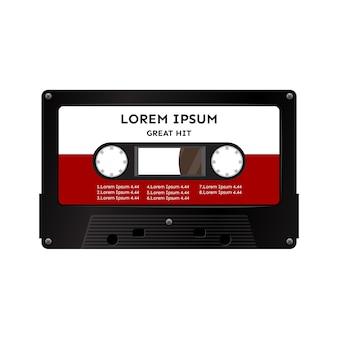 Cassete de fita de áudio
