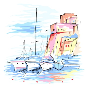 Castellammare del golfo, sicília, itália