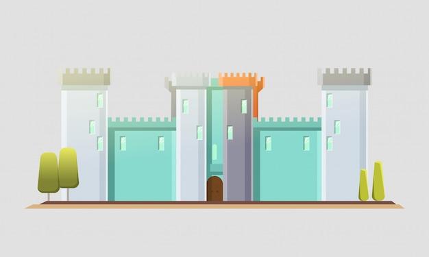 Castelo de conto de fadas.