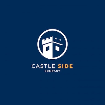 Castelo no logotipo do círculo