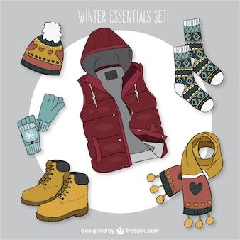 Casual coleção roupas de inverno