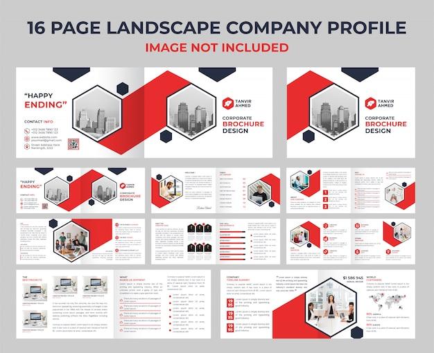 Catálogo corporativo de 16 páginas