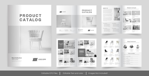 Catálogo de produtos ou design de catálogo