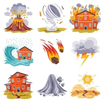 Catástrofe de desastre natural