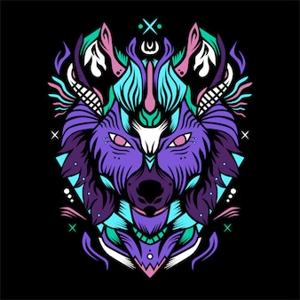 Cavaleiro lobo