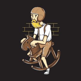 Cavaleiro velho