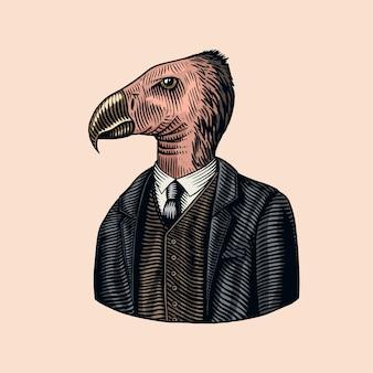 Cavalheiro condor da califórnia.