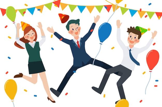 Celebração da equipe