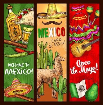 Celebração da festa do feriado mexicano de cinco de mayo