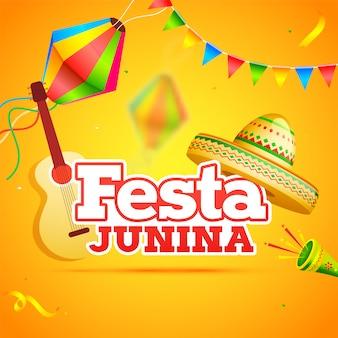 Celebração da festa festa junina
