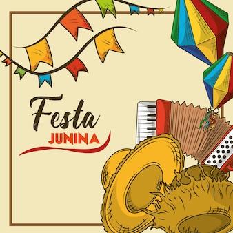 Celebração da festa junina