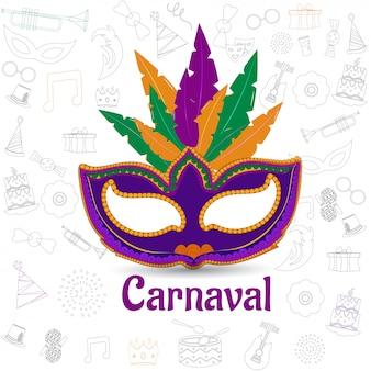 Celebração de carnaval.