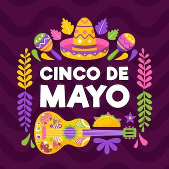 Celebração de cinco de maio
