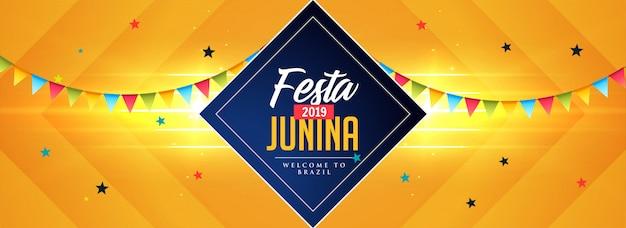 Celebração de festas de junina de festa