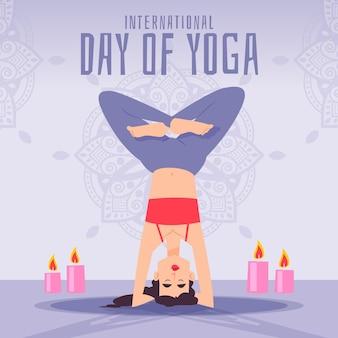 Celebração de ilustração do dia internacional