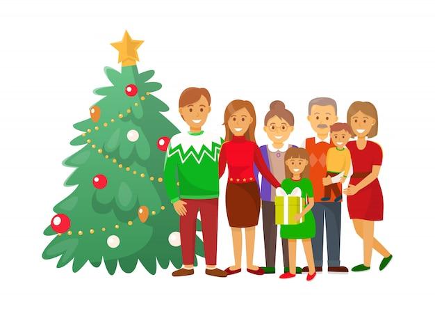 Celebração de natal natal férias de inverno em casa