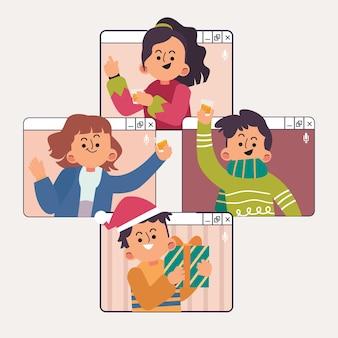 Celebração de natal online