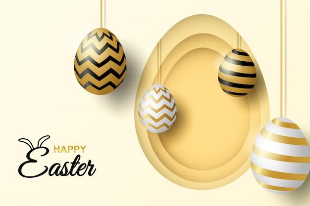 Celebração de páscoa feliz
