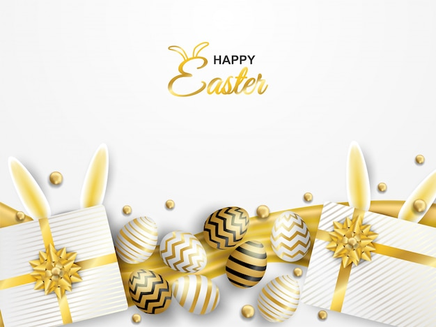 Celebração de páscoa feliz.