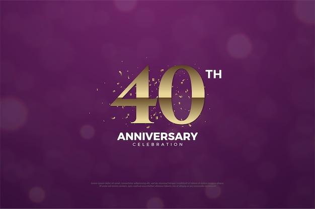 Celebração de quarenta anos