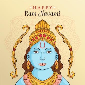 Celebração de ram de índio ram