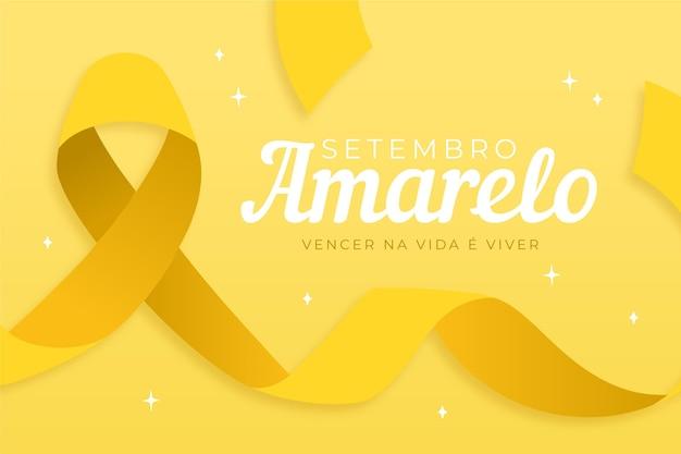 Celebração de setembro amarelo