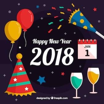 Celebração de um novo ano
