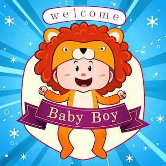 Celebração do bebê recém-nascido.