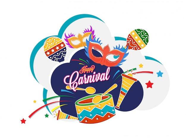 Celebração do carnaval.