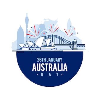 Celebração do dia da austrália