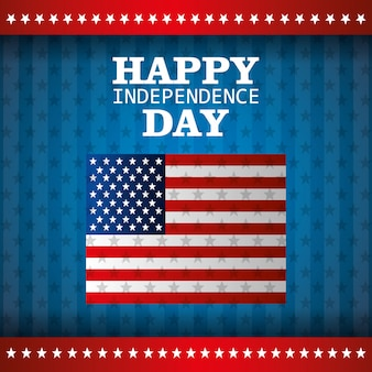 Celebração do dia da independência 4 de julho nos estados unidos da américa