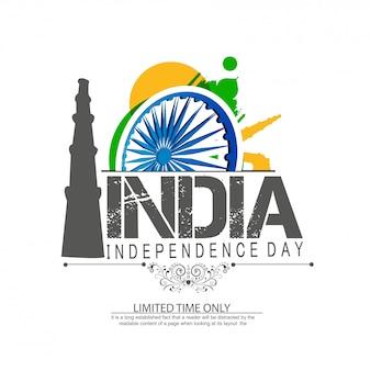 Celebração do dia da independência da índia