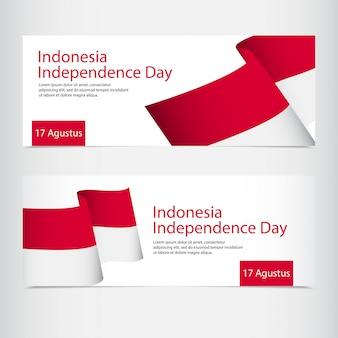 Celebração do dia da independência da indonésia
