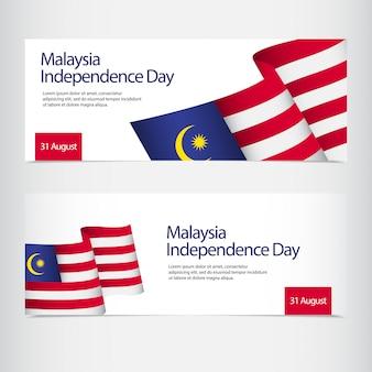 Celebração do dia da independência da malásia