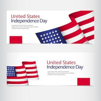 Celebração do dia da independência dos estados unidos