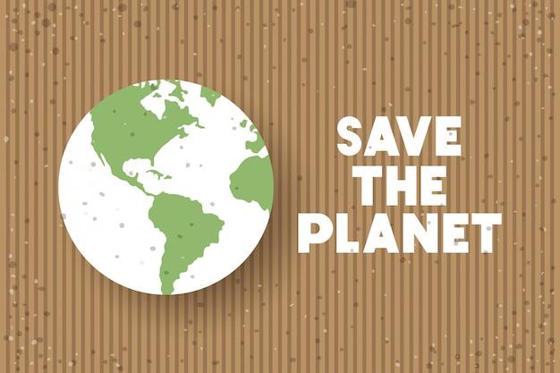 Celebração do dia da terra do planeta