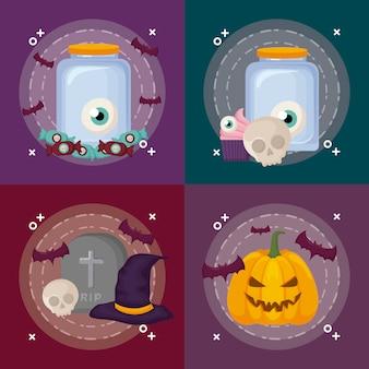 Celebração do dia das bruxas